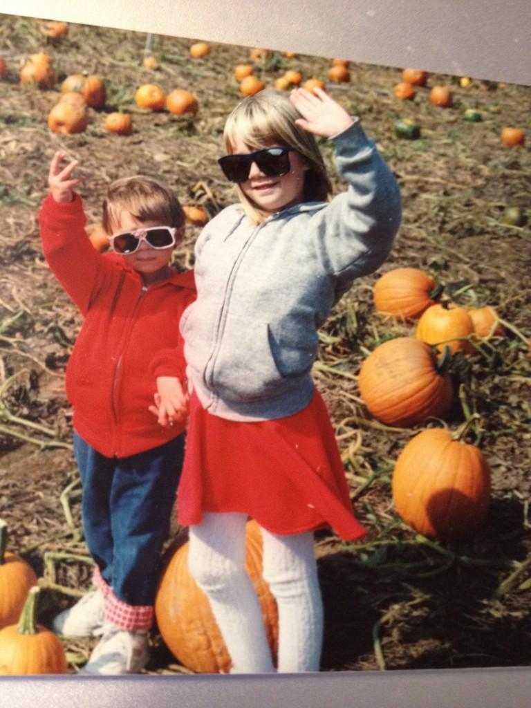 Weren't we cute?