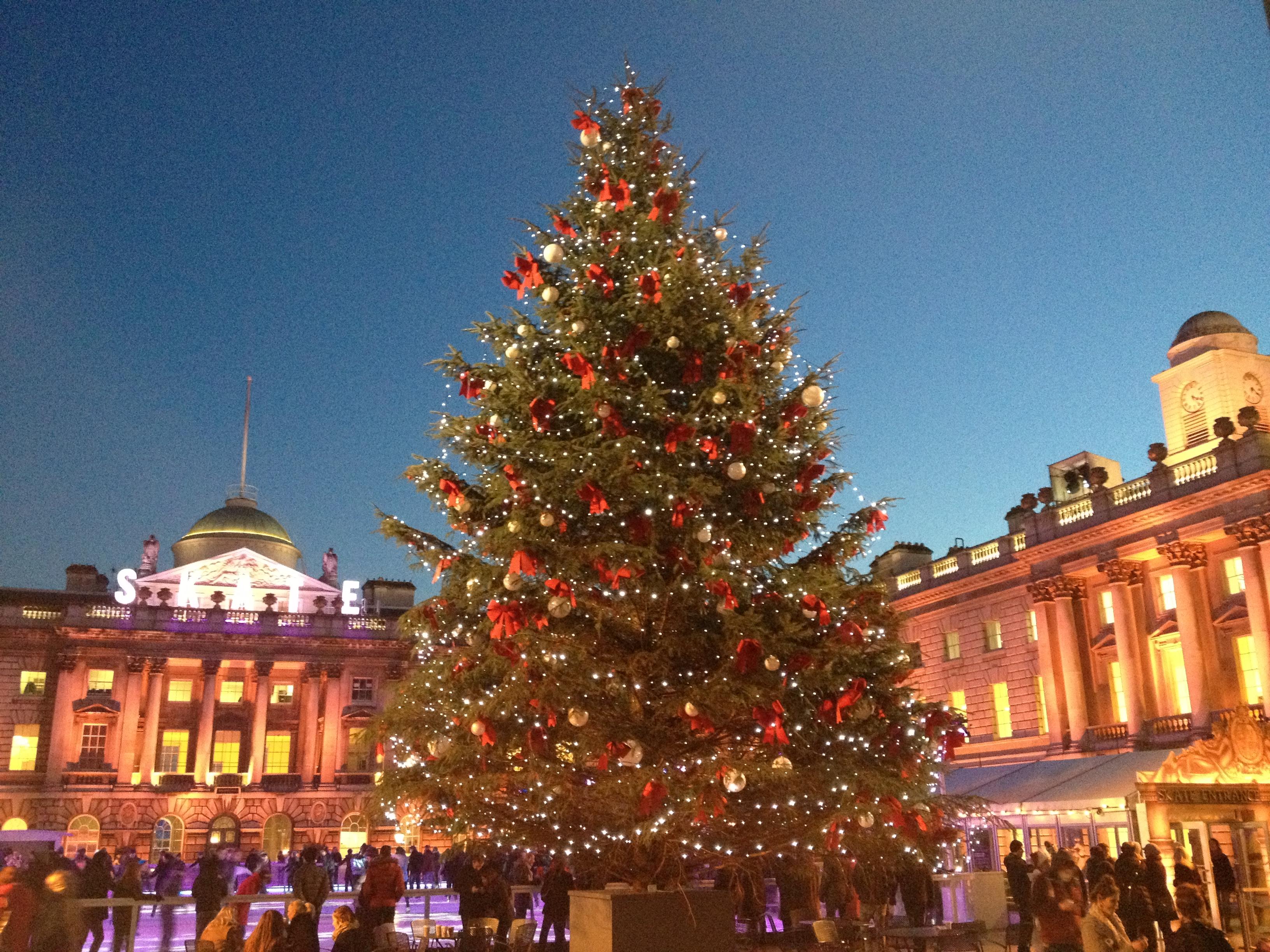 картинка рождественская елка в англии была любовь второго